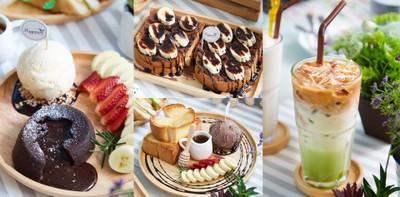 คาเฟ่ สไตล์ครอบครัว อิ่มชัวร์ยกแก๊ง @Happiness Cafe & Eatery พัทยา