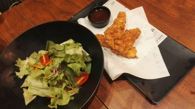 Sal Sal Chicken at Kyochon Mega Bangna