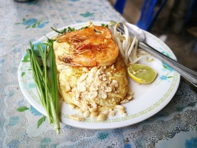 หอยทอด ผัดไทย ออส่วน