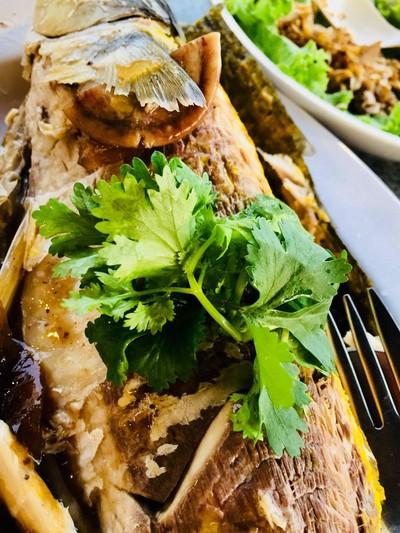ปลากระบอกเมืองจีนแช่เย็น1ตัว