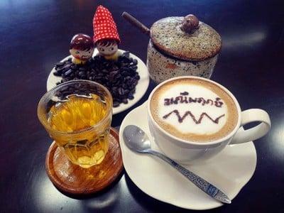 กาแฟมณีพฤกษ์ (Maneepruek coffee) ปั้ม น่านออยล์