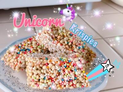 Unicorn Krispies🦄