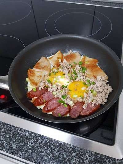 ไข่กระทะสูตรคุณแม่