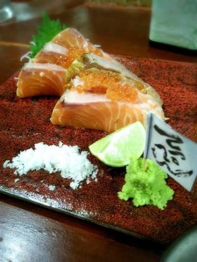 Salmon Warayaki