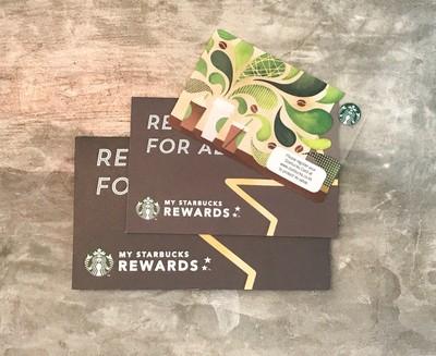 บัตร Gift Voucher Starbucks มูลค่า 100 บาท