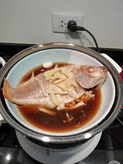 วิธีทำ ปลานึ่งซีอิ้ว