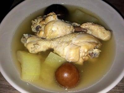 วิธีทำ ไก่ตุ๋นฟักมะนาวดอง