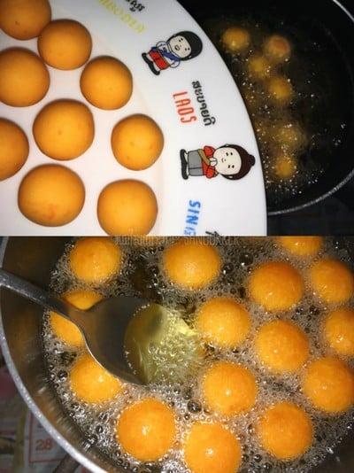 วิธีทำ ✿ ขนมไข่นกกระทา ✿