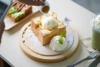 The White Cafe Milk&Toast