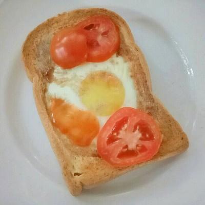 ขนมปังโฮลวีตไข่ดาว 🍳🍞