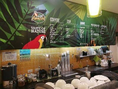 Café Amazon PTT Vibhavadi Laksi ปตท.วิภาวดีหลักสี่