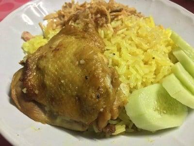 ข้าวหมกไก่ สูตรใช้หม้อหุงข้าว