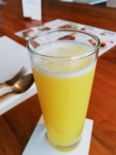 Organic Pineapple Pick-Me-Up ราคา 180 บาท