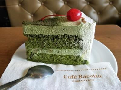 เค้กคลาสตาร์ดชาเขียว