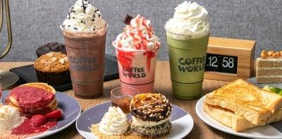 [รีวิว] Coffee World ร้านกาแฟครบเครื่อง พร้อมพื้นที่นั่งทำงานสุดชิลล์!