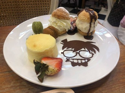 Detective Conan's Special Choux Cream Party Plate