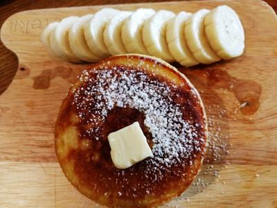 Hotcake With Banana