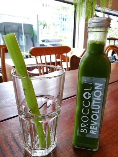 Organic Cold-Pressed Juice no.1 ราคา 220 บาท