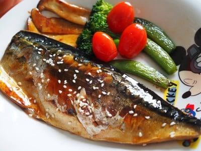 ปลาซาบะย่างซอสโชยุ