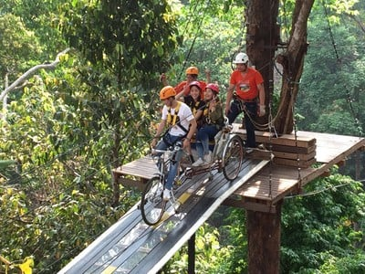 Pongyang Jungle Coaster Zipline Camp&Resort