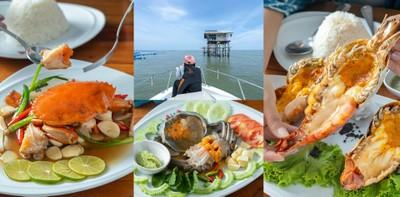 [รีวิว] ร้านบางตะบูนเบย์ ร้านอาหารทะเล เพชรบุรี เสิร์ฟสด ส่งตรงจากทะเล