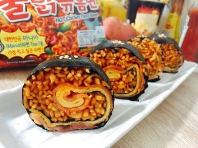 ซูชิมาม่าเกาหลีเผ็ดไส้แตก