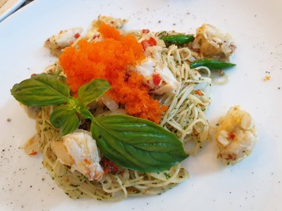 Angel Hair With Crabs##1