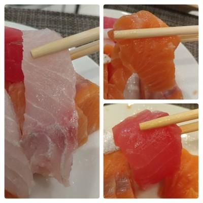 ปลากะพงซาซิมิ