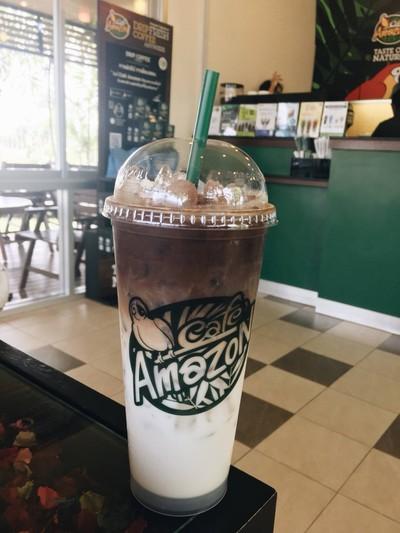 Cafe Amazon ปตท ม.อุบลราชธานี