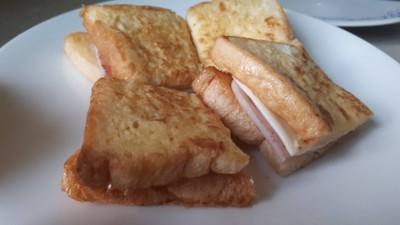Ham & cheese french toast