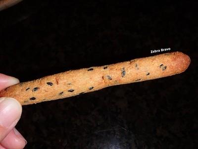 ขนมปังขาไก่งาดำ (เจ)