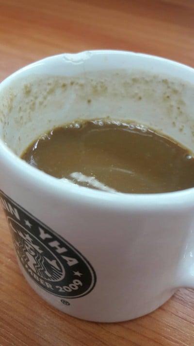 กาแฟร้อนเจ