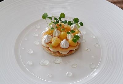 Lemon Meringue, Vanilla Mascapone Cheese Cream Duo