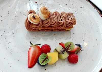 "Chef's Signature ""Mont Blanc Chestnut Mille-Feuille"""