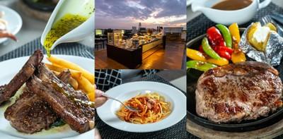 [รีวิว] California Steak ระยอง ห้องอาหารบนดาดฟ้า บรรยากาศสุดโรแมนติก
