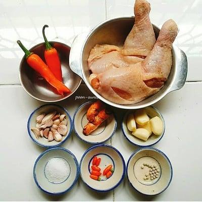 วิธีทำ ไก่ทอดขมิ้น