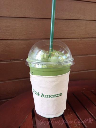 Café Amazon (คาเฟ่ อเมซอน) ปั๊ม ปตท. ปัว จ.น่าน