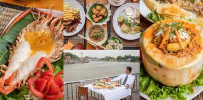 [รีวิว] ห้องอาหารโรงแรมอยุธยา ริเวอร์วิว จ.อยุธยา ร้านอาหารไทยริมน้ำ