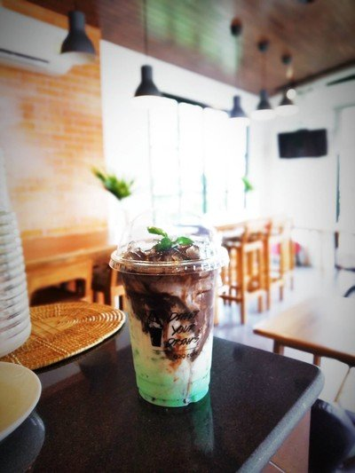 Iced Chocolate Mint
