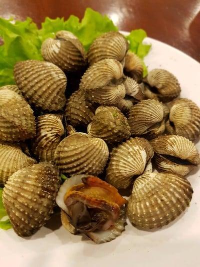 หอยแครงลวก (ตัวใหญ่)