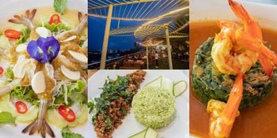 """[รีวิว] """"Sky Hill Bar & Restaurant"""" สุราษฎร์ธานี ชมวิวสุดชิลล์ 360°"""