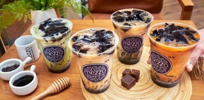 [รีวิว] Mezzo Coffee คาเฟ่ กับเมนูเซตใหม่ Brown Sugar and Jelly!