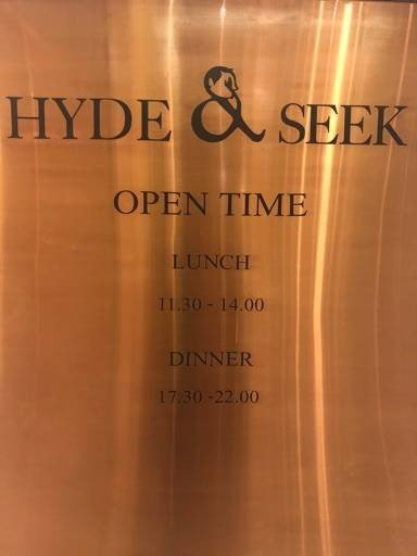 Hyde & Seek Athenee