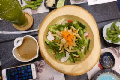 Shirau-O Salad