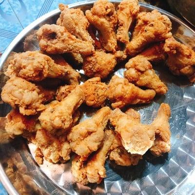 วิธีทำ ไก่ทอดซอสเกาหลี (ไก่บอนชอน)