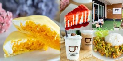[รีวิว] Binmarn Sweet Box Cafe สงขลา เครปเย็นออนไลน์สู่คาเฟ่เต็มรูปแบบ