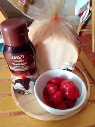 วิธีทำ strawberry chocolate