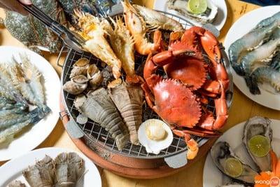 โคตรทะเล (Kodtalay Seafood Buffet)