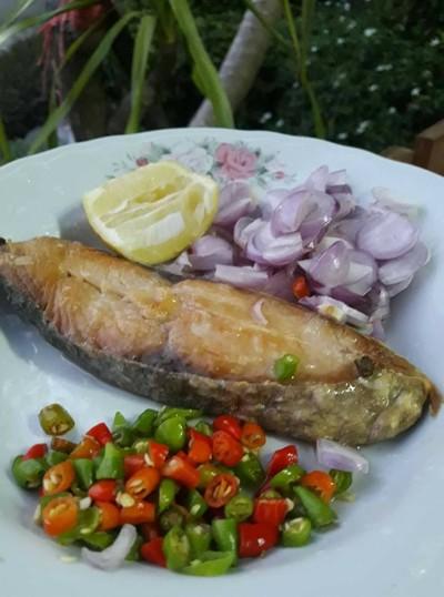 ปลาอินทรีทอด
