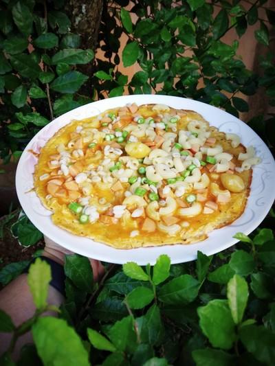 วิธีทำ ไข่เจียวแกงเขียวหวานพระอาทิตย์